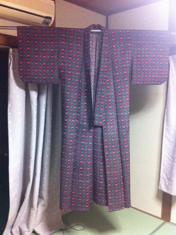Curtains Ideas black friday curtain sales : CLOSING SALE!! Women's Kimono, Japanese vintage traditional kimono ...