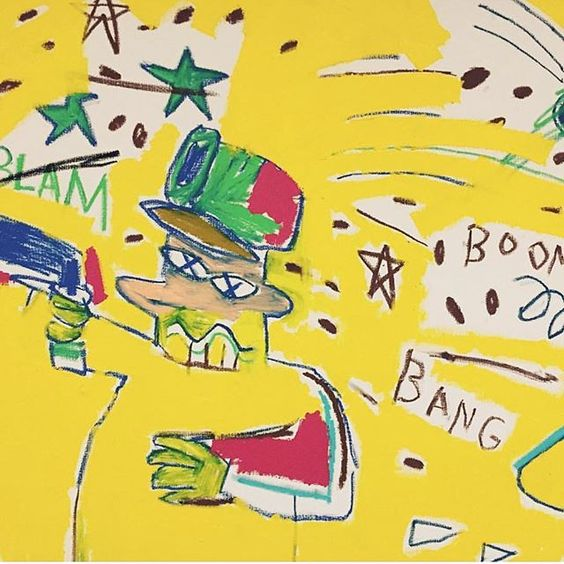 Curated by T.O.P #TTTOP @Sothebys #JeanMichelBasquiat 1983