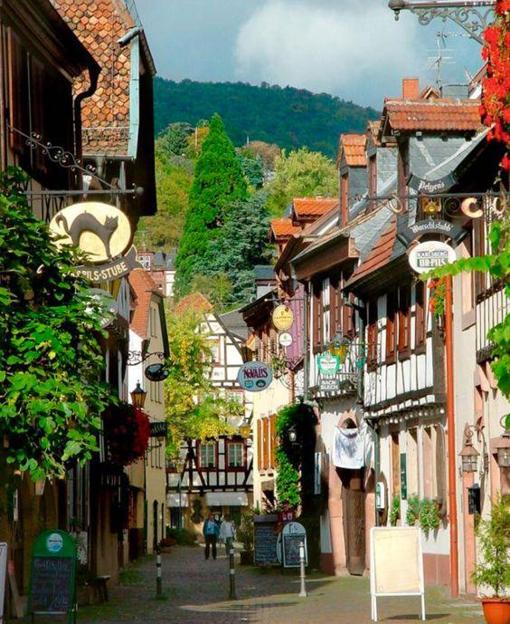Joseph Abhar -a memorable walk on the lane of Neustadt, Germany