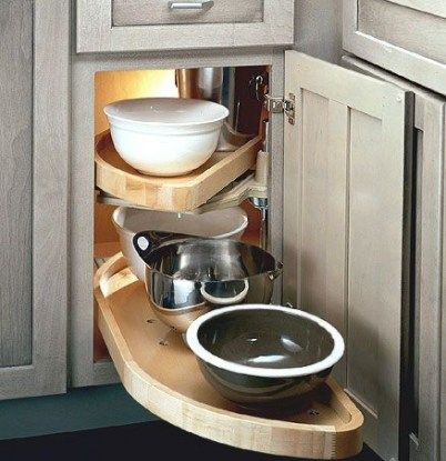 27 Super Ideas Kitchen Corner Cabinet Lower Corner Kitchen Cabinet Kitchen Innovation Kitchen Cabinets Storage Organizers
