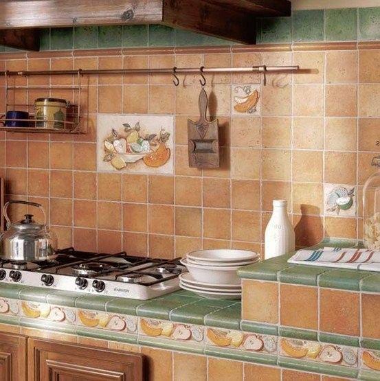 Piastrelle Per Cucina Rustica Gallery Of Piastrelle ...