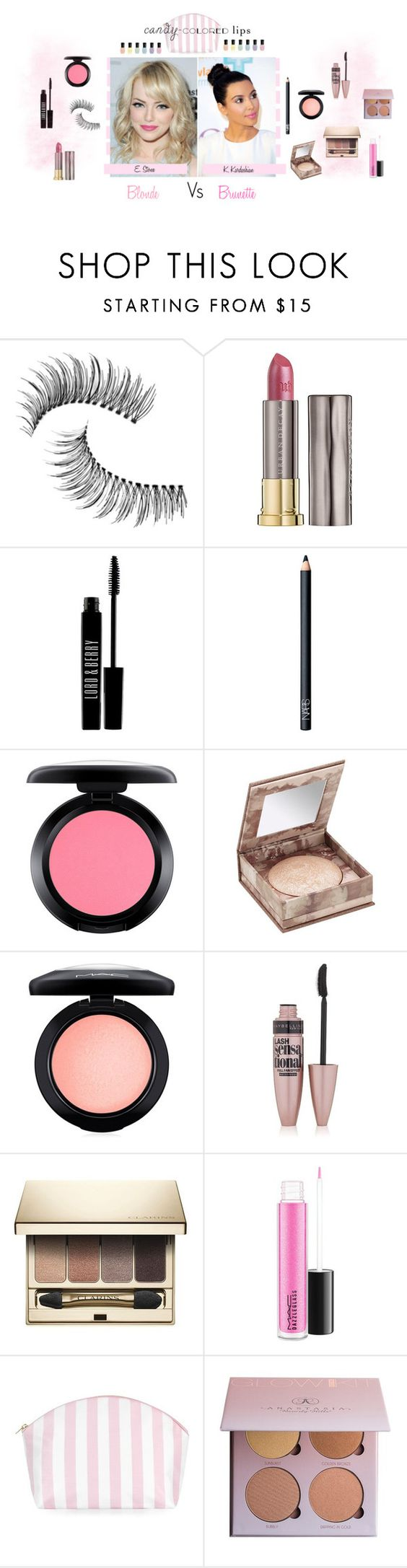 """""""Candy colored lips"""" by rosannaradicci ❤ liked on Polyvore featuring beauty, Rossetto, Trish McEvoy, Urban Decay, Lord & Berry, NARS Cosmetics, MAC Cosmetics, Maybelline, Clarins and Anastasia Beverly Hills"""