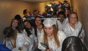 Waynesboro Area Senior High School Commencement on Tuesday, June, 5, 2012. (Public Opinion/Ryan Blackwell)
