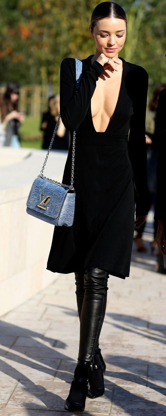 Miranda Kerr | Louis Vuitton Paris Fashion Week: