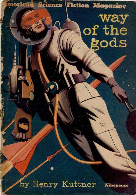 way of the gods, homme dans l'espace