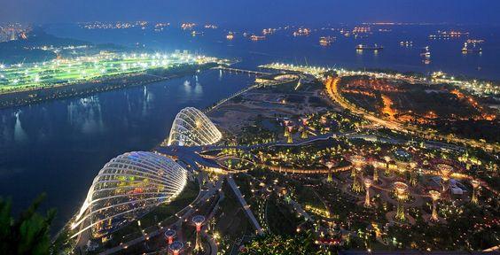 Singapore là đất nước xinh đẹp với nhiều thắng cảnh