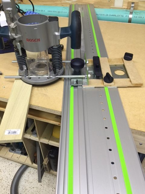 Festool Lr32 System And Bosch 1617 Plunge Router Narzedzia