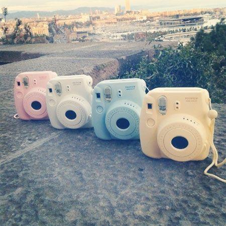 Luv the blue Fuji film instax Polaroid definitely on my birthday list ❤