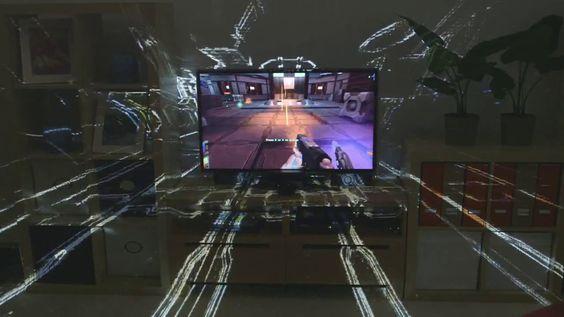 IllumiRoom: Tecnologia da Microsoft para os jogos invadirem a sala