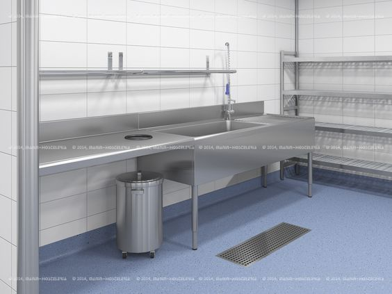 Dise o de cocina industrial en 3d y cad con rea for Cocinas en valencia
