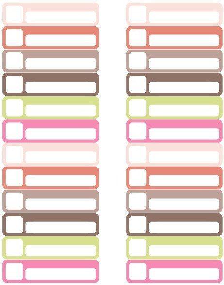 Free File Folder Label Template Organization Labels Your File Folders Coupons Binders File Folder Labels Folder Labels Printable Label Templates