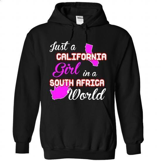 California-South Africa Girl - #style #sleeveless hoodie. MORE INFO => https://www.sunfrog.com//California-South-Africa-Girl-6023-Black-Hoodie.html?id=60505