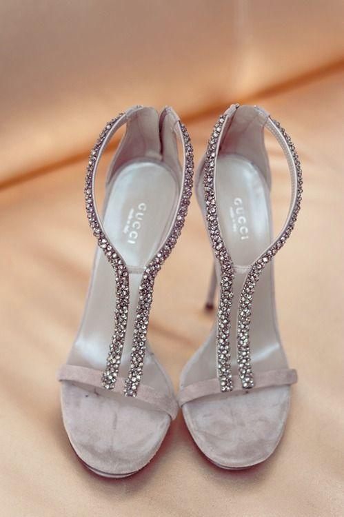 Suede sequin sandals