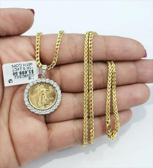 CS-DB Jewelry Silver Luxury Charm Chain Charm Pendants Necklaces