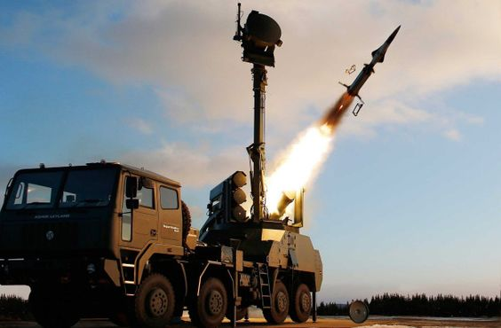 Saab BAMSE Ground Based Air Defence Missile System [HD, 1080p]
