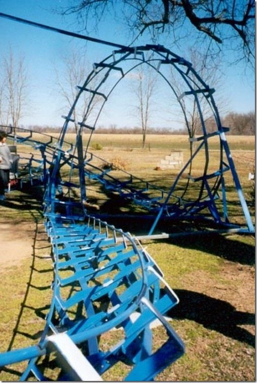 back yard roller coaster this is going to be a must room hair