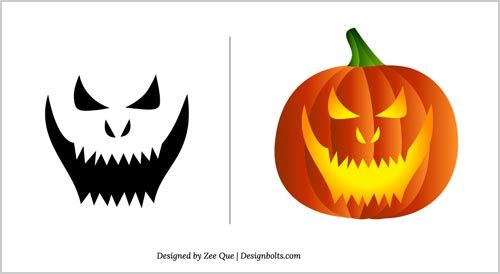 Best 25+ Scary pumpkin carving patterns ideas on Pinterest | Scary ...