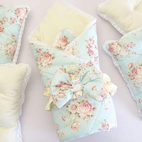Конверт одеяло на выписку для новорожденных 5
