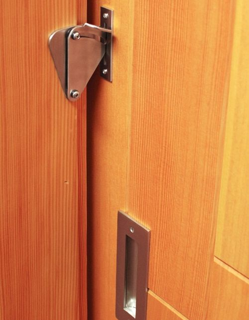 The Teardrop Lock Privacy Sliding Door Latch Lock Sliding Barn Door Bathroom Barn Door Sliding Doors Interior