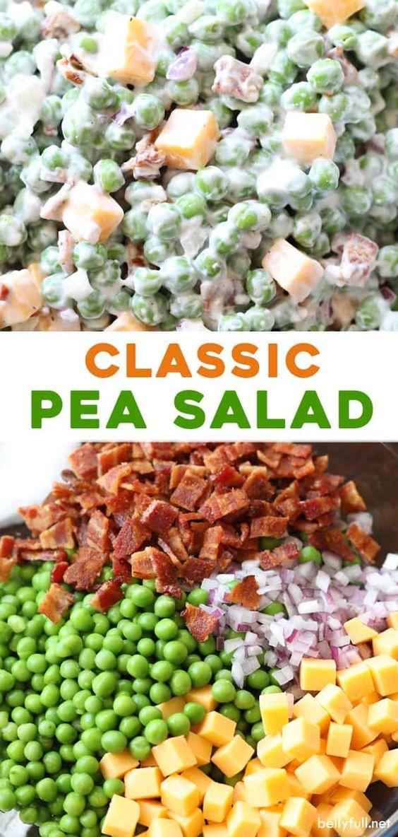 Classic Pea Salad