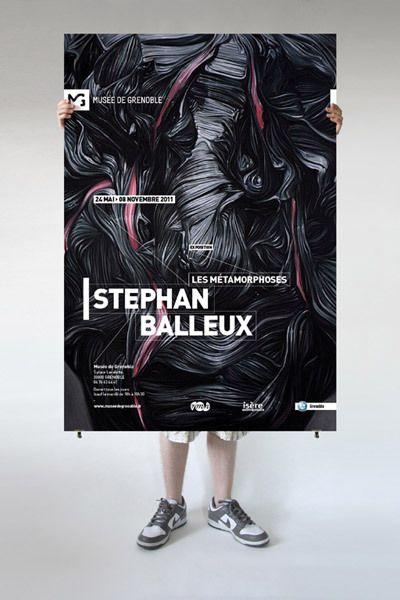 Musée de Grenoble by Fabien Laborie, via Behance