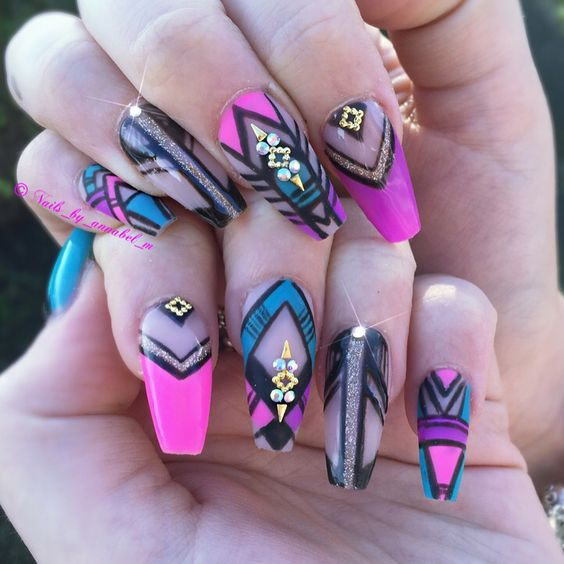All handpainted by me  instagram - nails_by_annabel_m