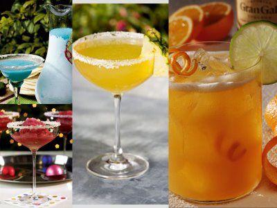 Margarita Madness - Triple Orange Margarita, Pomegranate Margarita, Pineapple Margarita & Blue Margarita recipes