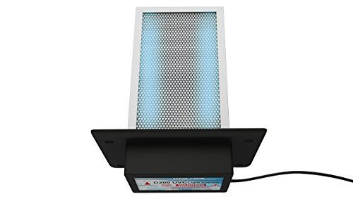 Generatorlight D200 Dual Lamp Air Purifier Whole House Tio2 Pco Photocatalytic Filter Uv Light In Duct Ducted Air Conditioning Air Purifier Top Air Purifiers