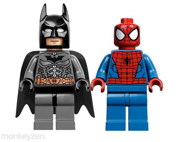 Batman y spiderman de lego productos que pinterest - Spiderman batman lego ...
