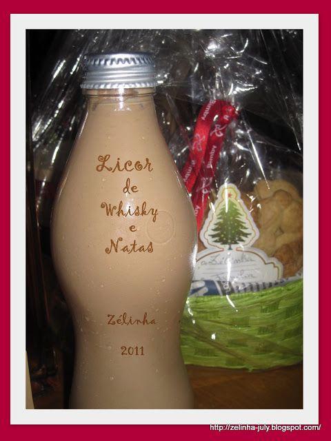Cabaz de Natal O cabaz foi composto por:licor dewhisky, cappuccino, doce de tomate e biscoitos de côco, feitos na Bimby.  Também tinha lic...