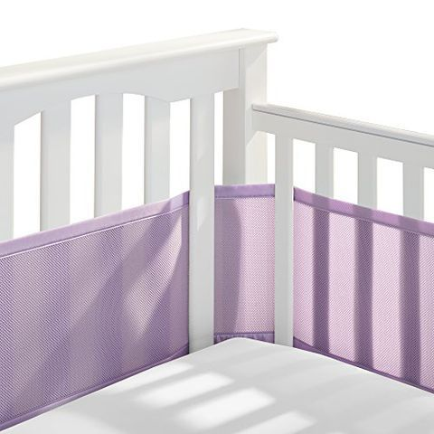 Tillyou Baby Safe Crib Bumper Pads Crib Liners Baby Crib Bumpers Cribs