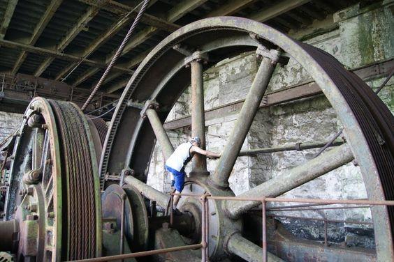 4º Patamar da Funicular-Paranapiacaba/Cubatão | Construída em 1901 e abandonada em 1981