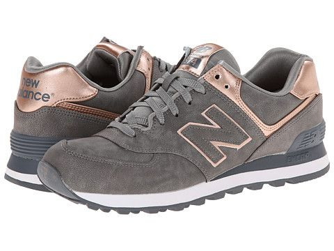 new balance gris et rose gold