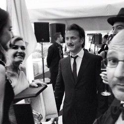 Cannes Film Festival 2012. Hello Sean. Dahling.