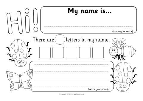 Minibeast Themed Name Writing Worksheets Sb12395 Sparklebox Writing Worksheets Teacher Websites Printable Teaching Resources Teacher websites for worksheets