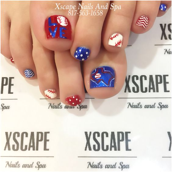 Texas ranger toe designs