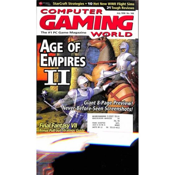Computer Gaming World, July 1998 | $8.63