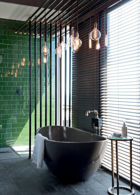 L'ampoule pour donner du style à la salle de bain