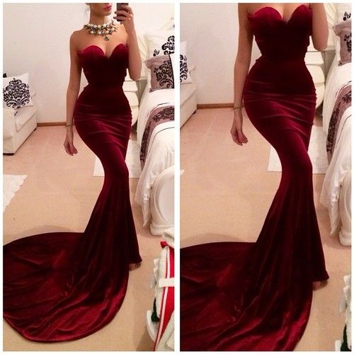 Sexy Women Sleeveless Mermaid Long Maxi Party Evening Cocktail Dress Size 6-18