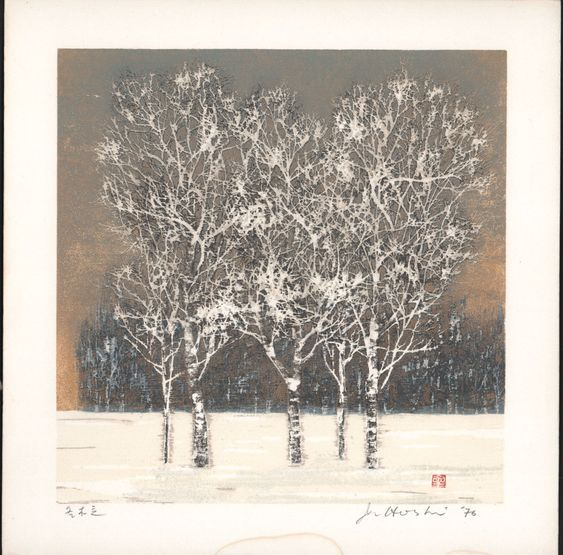Joichi Hoshi - Clump of Trees in Winter