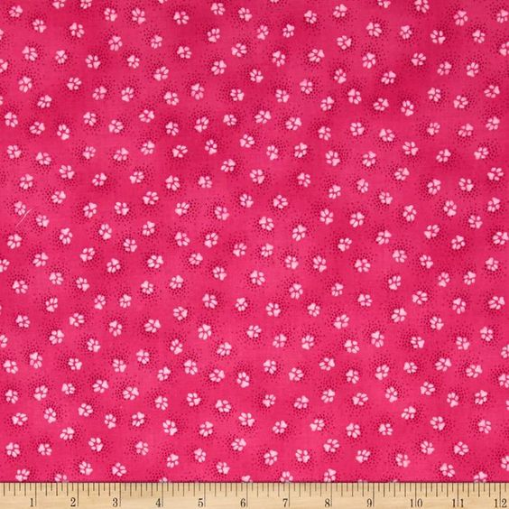 Laurel Burch Dogs & Doggies Paw Prints Fuchsia from @fabricdotcom  Designed by Laurel Burch for Clothworks Fabric, this cotton print fabric is perfect for quilts, home décor accents, craft projects and apparel. Colors include shades of fuchsia.