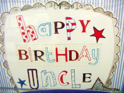 Images Of Birthday Cake For Uncle : happy birthday uncle Words to live by! Pinterest ...