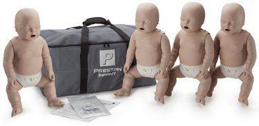4-Pack of Infant CPR Manikins with Compression Rate Monitors by Prestan, Medium Skin Tone PP-IM-400M-MS Prestan Products http://www.amazon.com/dp/B00BEM7G96/ref=cm_sw_r_pi_dp_WeJfub05JTMMH