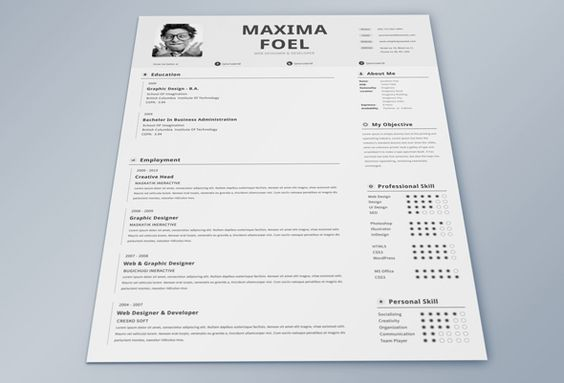 50 Inspiring Resume Designs And What You Can Learn From Them - coaching resume