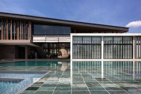 modern clubhouse. bangkok.