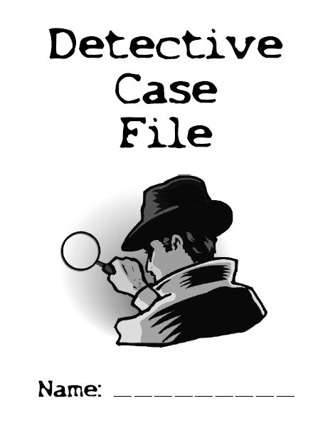 detective on the case book report Latest book from randi rhodes, ninja detective randi rhodes, ninja detective: the case of the time-capsule bandit was her first novel report piracy.