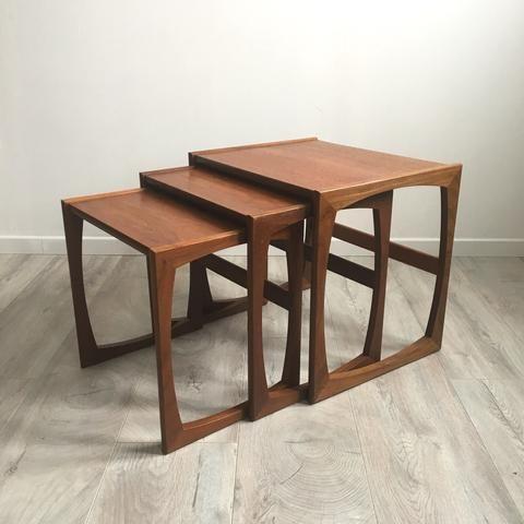 3 Tables Gigognes Gplan Vintage Livraison Gratuite France Belgique Meuble Vintage Mobilier De Salon Mobilier Ancien