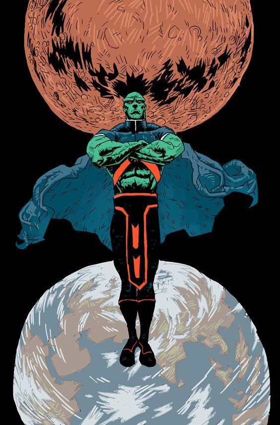 Martian Manhunter - Sid Kotian