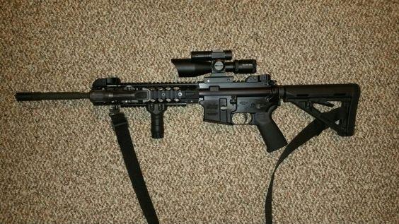 Off-duty Windham Weaponry CDI .223 AR/15