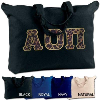Alpha Omicron Pi Sorority Shoulder Bag